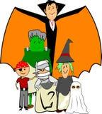 halloween dzieciaki Obraz Stock