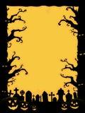 Halloween-Einladung stock abbildung