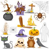 Halloween Element Royalty Free Stock Images