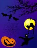 Halloween-Elemente stockfotografie