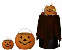 Halloween-Elemente Stockbild