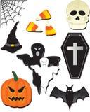 Halloween-elementen Royalty-vrije Stock Afbeelding