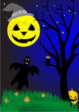 Halloween elements Royalty Free Stock Images