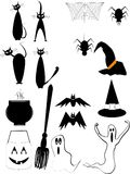 Halloween elements Stock Image