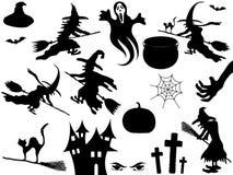 Halloween elements Stock Image