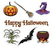 Halloween elements Stock Photo