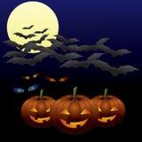 Halloween em segundo ilustração royalty free