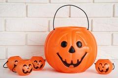 Halloween-emmers royalty-vrije stock afbeeldingen