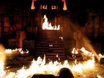 Halloween en el puerto Aventura España del parque Fotografía de archivo libre de regalías