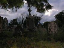 Halloween en la oscuridad imágenes de archivo libres de regalías