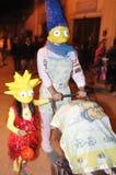 Halloween en San Kolumbia Agustin - Zdjęcia Royalty Free