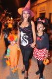 Halloween en San Kolumbia Agustin - Zdjęcie Stock