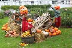 Halloween en Tivoli imagenes de archivo
