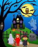 Halloween/ENV Lizenzfreie Stockfotos
