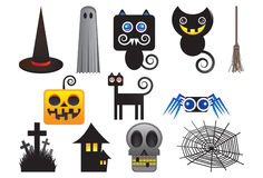 Halloween está aqui Fotos de Stock