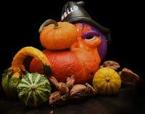 Halloween está aqui Imagem de Stock Royalty Free