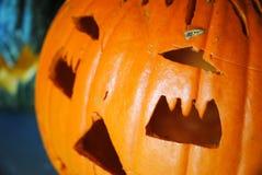 Halloween et potiron image stock