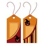 halloween etykietka ilustracja wektor