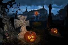 Halloween eve Stock Images