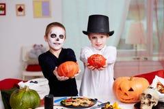 Halloween evening Royalty Free Stock Photos