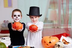 Halloween evening Royalty Free Stock Images