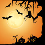 Halloween Evening Royalty Free Stock Image