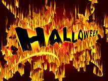 Halloween Event background Royalty Free Stock Photo