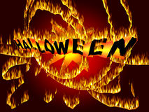 Halloween Event background Royalty Free Stock Photography