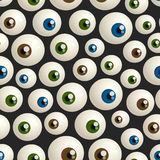 Halloween eyeballs Stock Images