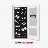 Halloween eyes Stock Images