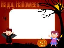 halloween för 3 ram foto Arkivfoton