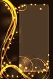 halloween för bakgrundseffekt lampa Royaltyfria Foton
