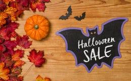 Halloween försäljning Arkivfoto