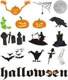 Halloween - facciala voi stessi Illustrazione di Stock
