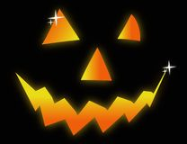 Halloween face symbol illustration Stock Photos