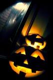 Halloween Faces Stock Photography