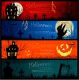 Halloween-Fahnen Stockbilder