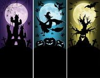 Halloween-Fahnen Stockfoto