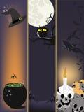 Halloween-Fahnen Lizenzfreies Stockfoto