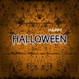 Halloween-Fahnenkalligraphie Partei Halloweens Süßes sonst gibt's Saures Stockbild