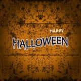 Halloween-Fahnenkalligraphie Partei Halloweens Süßes sonst gibt's Saures Lizenzfreie Stockbilder