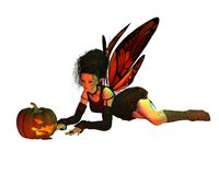 Halloween Fairy - 3 Royalty Free Stock Photos