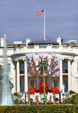 Halloween Fall Decorations White House Washington DC Stock Photography