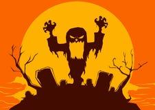 Halloween: fantasma Immagini Stock Libere da Diritti