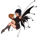 Halloween-Fee - 1 Stockbild