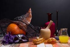 Halloween-Feier; stockfotografie