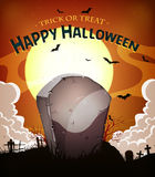Halloween-Feiertags-Hintergrund Stockbilder