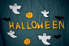 Halloween-Feiertags-Hintergrund Stockfotos