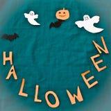 Halloween-Feiertags-Hintergrund Stockfoto