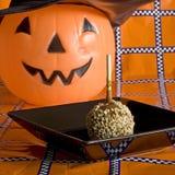 Halloween-Feiertagstabellenquadrat Stockbild